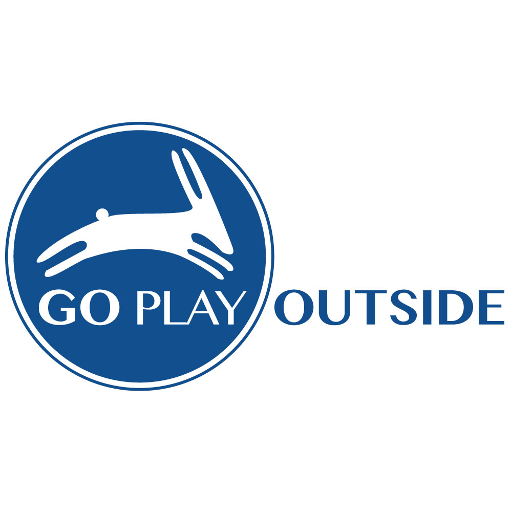 Go Play Outside Rabbit Logo