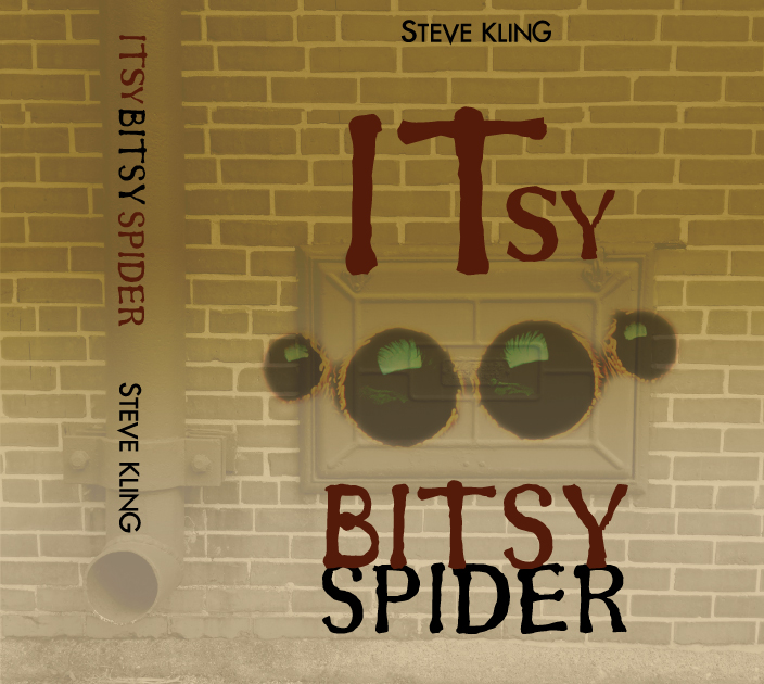 Steve Kling book cover for Itsy Bitsy Spider