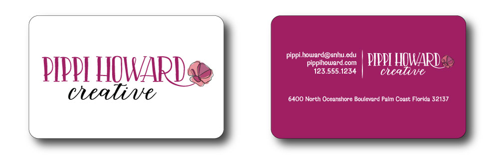 Pippi Howard Creative Business Cards