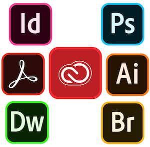 Adobe Creative Cloud icons